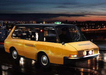 Examples of the Most Unusual Taxi: 10 Photos