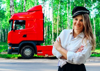 A Young Trucker Told About Her Work