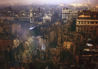Color Photos of London During the Second World War