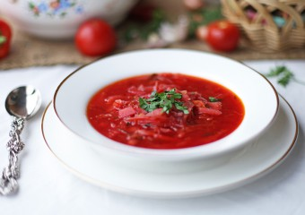 The most delicious borscht recipe