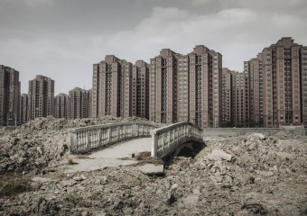 Empty Ghost Towns in China
