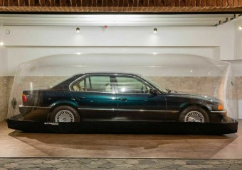 The new BMW was stored under the dome for more than 20 years and is now being sold!
