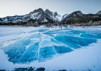 17 Frozen Reservoirs That Look Like Fine Art